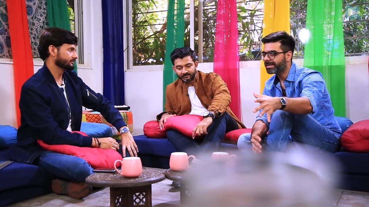:: #jalsapartywithdhvanit Uncut Episode 2 ::  We've all grooved to Sachin Jigar's tunes right from childhood! But where did their journey in the industry start? Dhvanit gets candid with the dynamic duo!  #jalsaparty #dhvanit #sachinjigar #webseries #gujarati Sachin Jigar