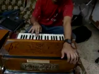 I didn't know that our favorite RJ Dhvanit can play the harmonium also? He is truly a multi talented guy but so humble and modest about all his work! These are some snippets of their jamming sessions! I can't believe they could arrange and sing so well even in such a primary setup.  Thanks again to my friend Parth who let me visit their jamming session! ----------------------------------------- Uploaded By: Vishal