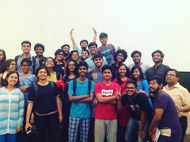 RJ Dhvanit,  Teaching, NID, students