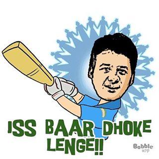 Iss baar toh Dhoke Lenge!  #indvsaus #wt20 #twenty20 #cricket #worldcup