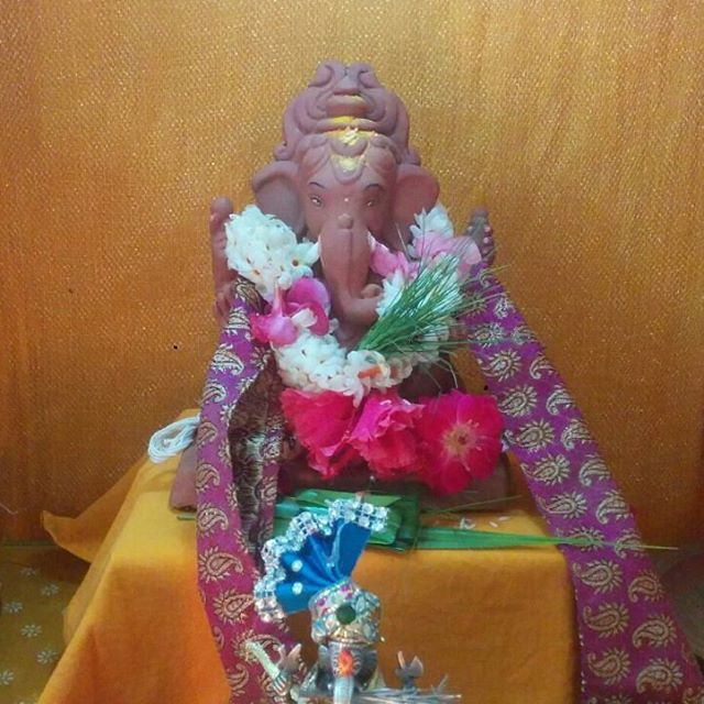 A mirchi listener Chetasi Kane shared this picture of the #tree #ganesha she has got at her home.  #ganesh #idol #ganeshchaturthi