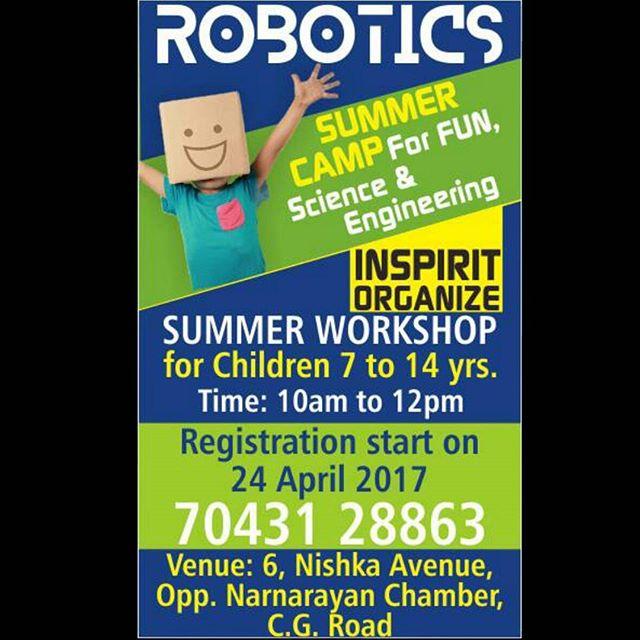 Rj Dhvanit Robotics Workshop For Kids This Summer