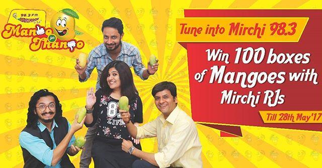 RJ Dhvanit,  mangoyathango, mangoes, mango, contest, summer, ahmedabad