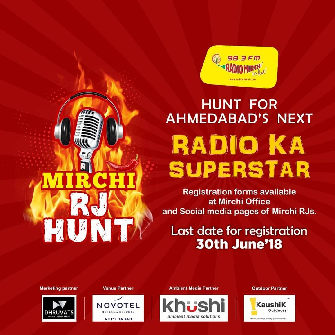 Last date for registration is 30th June for #mirchirjhunt  Find registration form link in bio  #mirchi #radiomirchi #rjhunt #rj #radiojockey