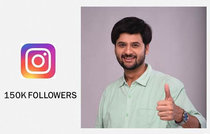 Thank you so much for all the love my insta family ❤️ we are now a family of 150k  #insta #instagram #instafamily #followers