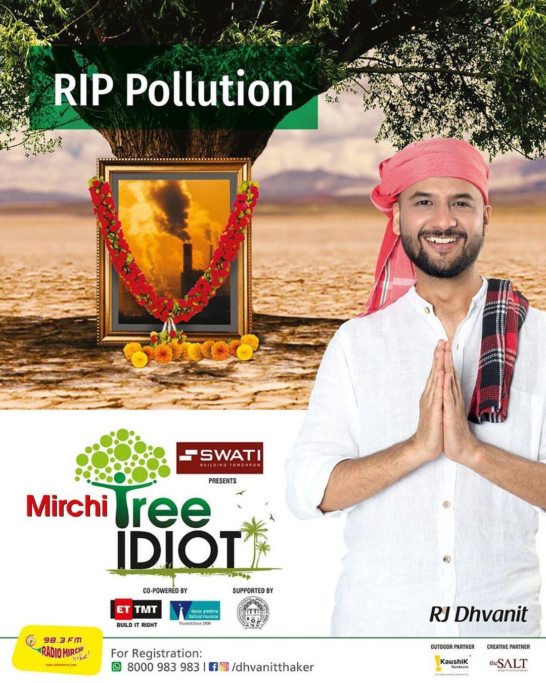 RJ Dhvanit,  TreeIdiot, MissionMillionTrees
