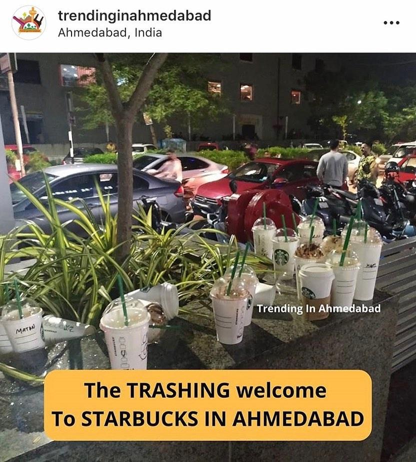 એરપોર્ટ પર જોર-જોરથી વાતો કરવી... વિદેશી યુવતીને વિશેષ રીતે જોવું... હોટેલના રૂમમાંથી towels ની ચોરી કરવી... ગમે ત્યાં કચરો કરવો... આ લોકો આપણી impression કેમ ડાઉન કરે છે?!! . . @starbucksahmedabadone_  @trendinginahmedabad