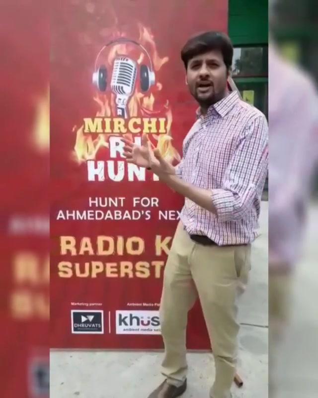 मैं बन्ना चाहता हूं रेडियो का अगला Superstar क्यूंकि.. #rj #rjdhvanit #dhvanit #mirchirjhunt #audition #radio #radiojockey