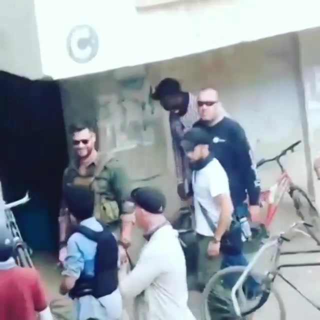 @chrishemsworth in #ahmedabad! More videos on my insta stories.. Thanks for sharing this video Sachin Solanki  #chrishemsworth #thor #amdavad #avengers