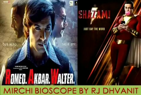 #mirchimoviereview #shazam #RAW  #mirchibioscope #dhvanit #dhvanitreviews #johnabraham #DC #moviereview