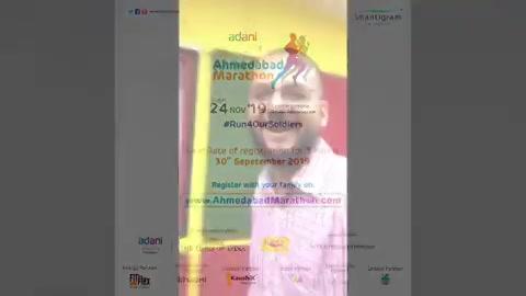 ચાલો દોડવા! . . Register yourself with your friends & family in Adani Ahmedabad Marathon's 5 KM Run. Registrations closes on 30th Sept . . . Adani Ahmedabad Marathon in Association with 98.3 Mirchi. . . . @shantigramtownship @ahmdmarathon @adanionline @mirchigujarati . . #Run4OurSoldiers