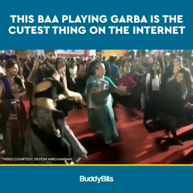 Wah બા Wah ❤️ Majja padi gai 💥  #garba #dadi #navratri #ahmedabad #baroda #surat #rajkot