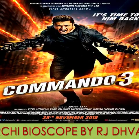 #mirchibioscope #commando3 #vidhyutjamwal