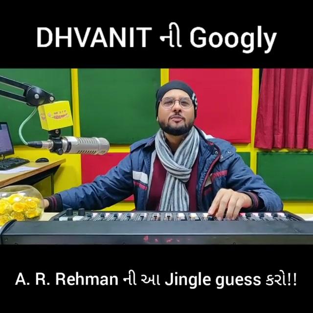 Dhvanit ની Googly!  A. R. Rehman ni aa Jingle guess karo! Comment and win a Plantable Calender! . . . . #rjdhvanit #amdavad #gujarati #radio #mirchi