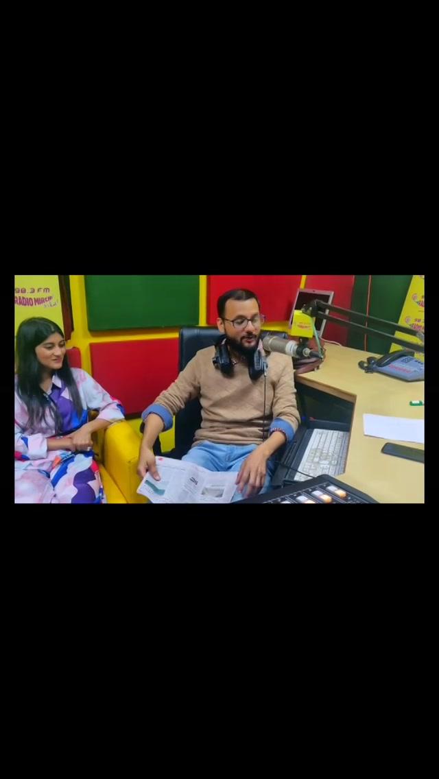 બહુ મજા પડી આજે મળીને  @pratikgandhiofficial @shraddhadangar_official @deekshajoshiofficial @vyomanandi  #luvnilovestorys