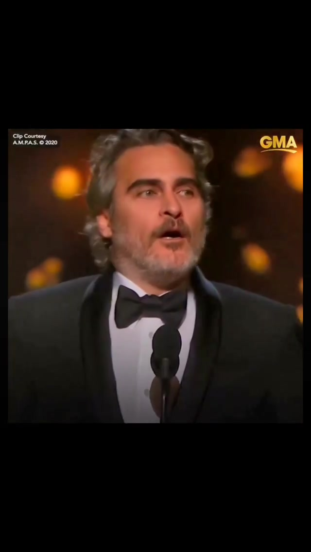 @jokermovie @theacademy #oscars #academyawards #joaquinphoenix