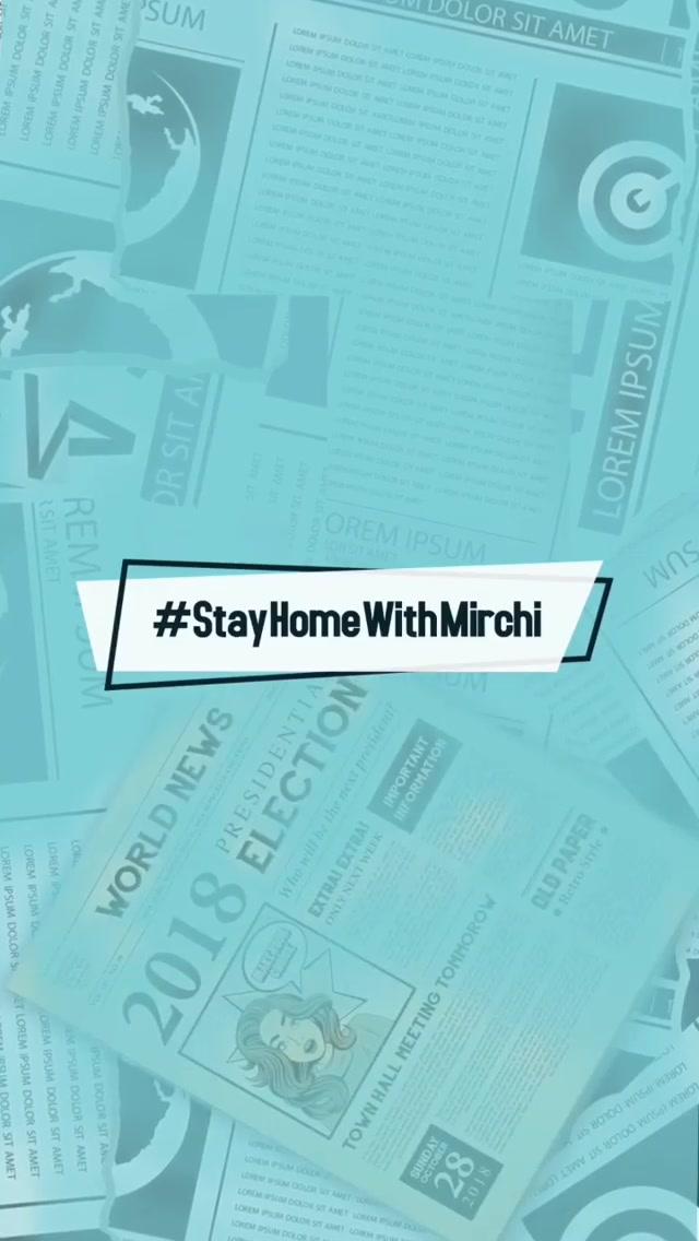 Watch Dhvanit's Akhbarnagar - 'Times of Mirchi' for 05.04.2020  @radiomirchi  #stayhome #rjdhvanit #ahmedabad #gujarat #DhvanitNuAkhbaarnagar #Akhbaarnagar #RadioMirchi #MirchiGujarati