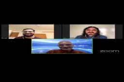 with  @adityagadhviofficial and @antanideepak (  Soham TV) !!   #rjdhvanit #sohamtv #adityagadhavi #dhvanit #radiomirchi #mirchigujarati #facebooklive #coronasedarona #positivity
