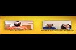 પરંપરા અને પ્રયોગશીલતાનું સંયોજન! For Full Video... link in bio.   Gamta Garba with Saumil Munshi and Arati Munshi.  @shyamalsaumilofficial @aartudi   Mirchi Rock N Dhol Presented by @officialbankofbaroda In association with : @laadki_detergent @sakhiyaskinclinic  #saumilmunshi #shyamalmunshi #aartimunshi #rjdhvanit #dhvanit #rockndhol #gamtagarba #RadioMirchi #MirchiGujarati  #gujarat #garba #raas #ahmedabad #surat #baroda #rajkot #vadodara