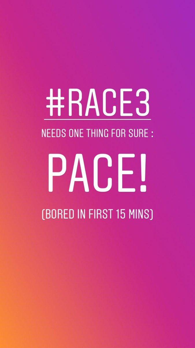#Race3WaaliEid #Race3 #Race3review #dhvanitreviews #moviereview #dhvanit https://t.co/ckGheIEA5V