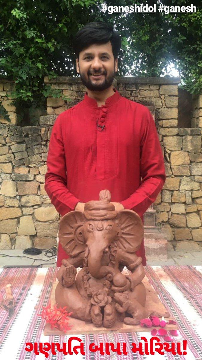 ગણપતિ બાપા મોરિયા! #ganesh #ganeshidol #idol #GaneshChaturthi #GanpatiBappaMorya https://t.co/90ljnn4b6A