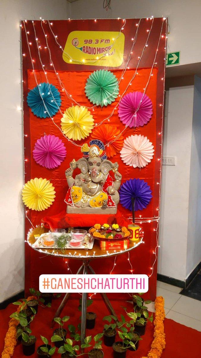RJ Dhvanit,  GaneshChaturthi, GanpatiBappa, GanpatiBappaMorya, ganeshchaturthi