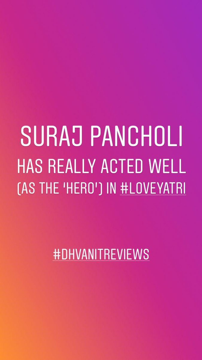 #mirchimoviereview #loveyatri #LoveTakesOver #LoveyatriReview #dhvanitreviews https://t.co/iqatE94ldX