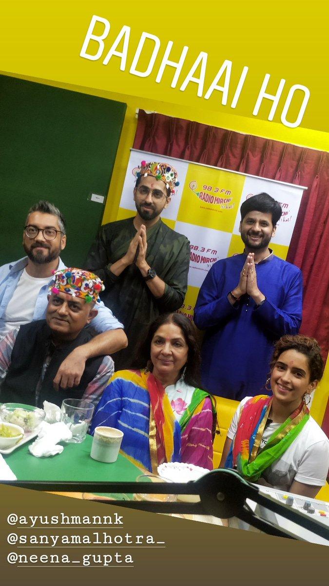 RJ Dhvanit,  badhaaiho, ahmedabad