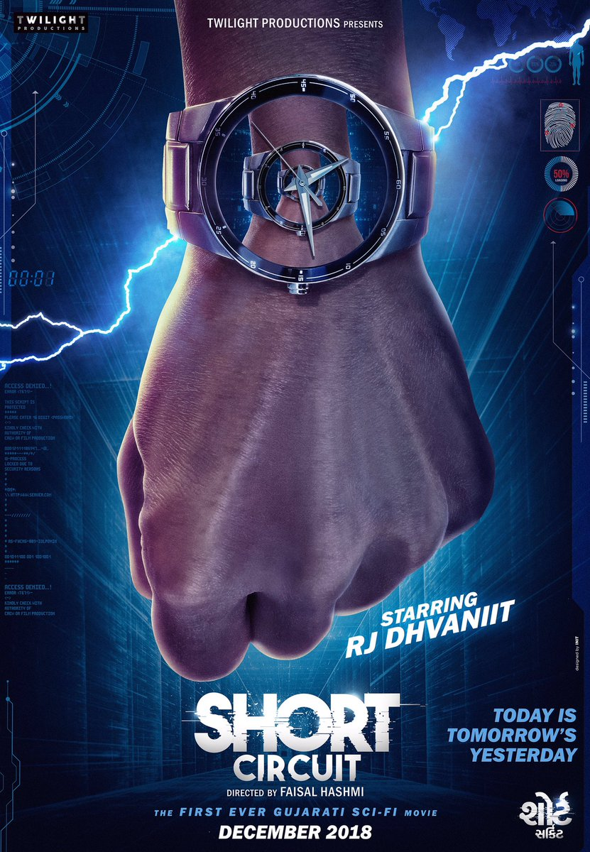 Buckle up your seat belts for a Roller Coaster.  #ShortCircuit #GujaratiFilm #UpcomingGujaratiFilm #GujaratiMovie #UpcomingGujaratiMovies #December2018 https://t.co/RkVRNMyasd