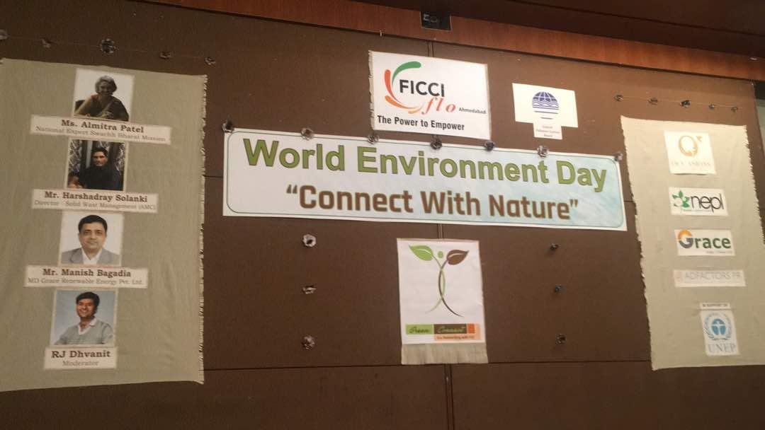 RJ Dhvanit,  banner, WorldEnvironmentDay, WorldEnvironmentDay2017, ecofriendly, GOGREEN