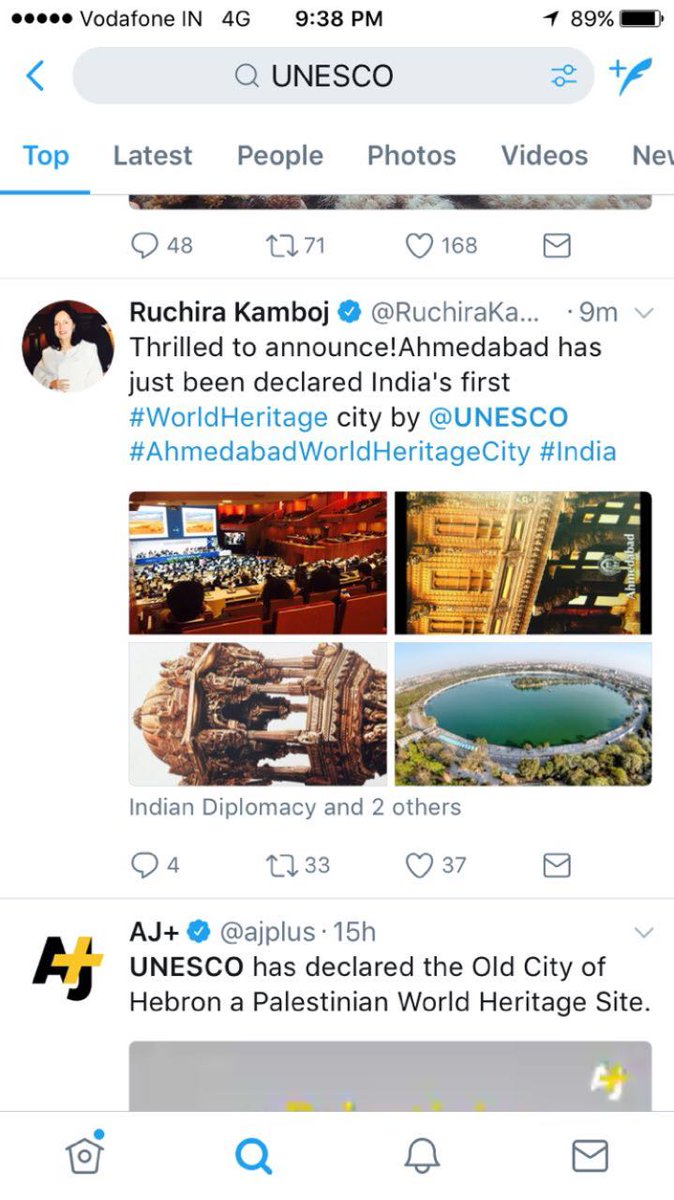 Super news this is! Finally! #Ahmedabad #worldheritagecity https://t.co/Rur1CZdq6Z