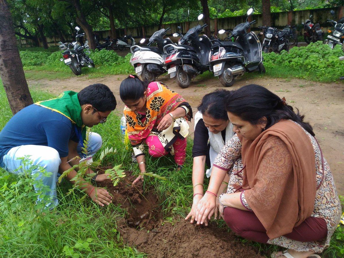 RJ Dhvanit,  NSS, treeidiot, environment, nature