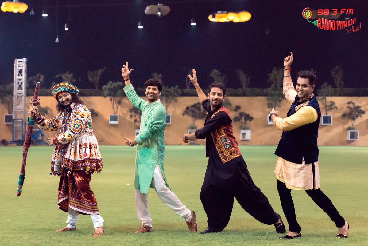 All set for #mirchirockndhol #navratri2017 #navratri https://t.co/wl83ewJ2oA