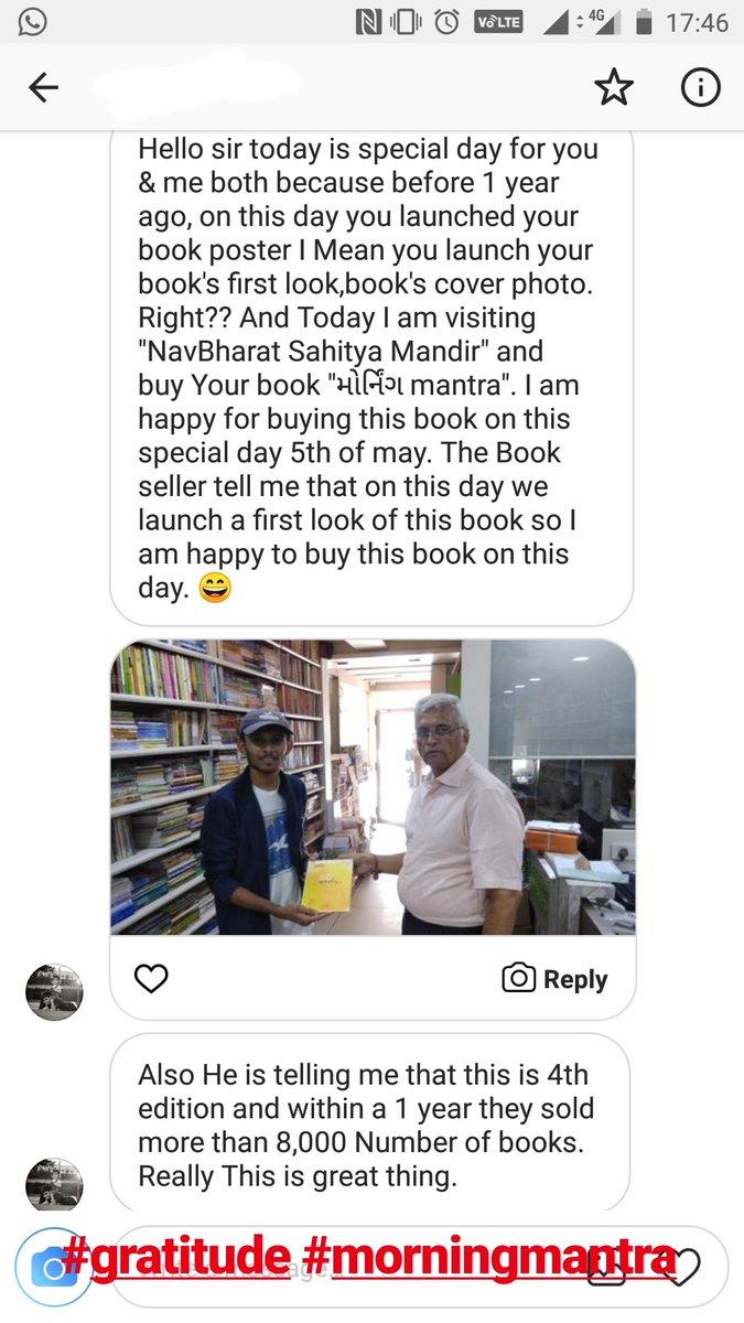 RJ Dhvanit,  book, morningmantra, dhvanit, bookstagram, booklove, gratitude, humbled