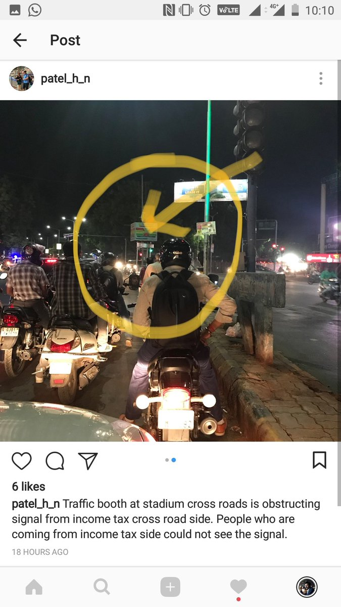 @AhmedabadPolice @AhdTraffic pls take a note. This problem is there at a lot of traffic signals in Ahmedabad like Pakwan too. #ahmedabad https://t.co/J54PQQ6cxg