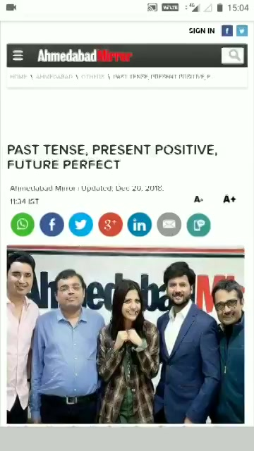 Thank you so much @ahmedabadmirror @deepalMirror for having us for the discussion of the future of #gujaraticinema Read full article here: https://t.co/F2wv81o8oY  @mitai_shukla @KinjalRajpriya @saandeeppatel https://t.co/vZGmgTs0Do