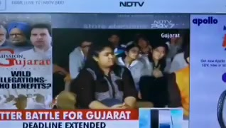 Was live on @ndtv with @sunetrac talking on #GujaratElection2017 #election #voting #vote #dotchetohhotche https://t.co/v6SzwwD2fF