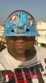 Solar cap! #uttarayan #uttarayan2018 #makarsankranti #MakarSankranti2018 #Ahmedabad https://t.co/d4l9qGVvvO